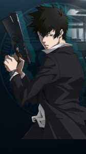 Psycho-Pass.Shinya Kogami HTC One X wallpaper.720x1280