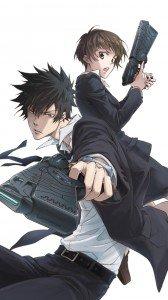 Psycho-Pass.Shinya Kogami Sony LT28H Xperia ion wallpaper.Akane Tsunemori.720x1280