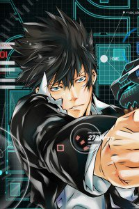 Psycho-Pass.Shinya Kogami iPhone 4 wallpaper.640x960