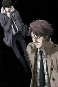 Psycho-Pass.Shinya Kogami iPhone 4 wallpaper.Tomomi Masaoka.640x960