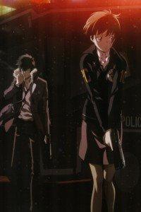 Psycho-Pass.Shinya Kogami.Akane Tsunemori iPhone 4 wallpaper.640x960