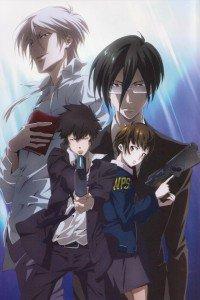 Psycho-Pass.Shinya Kogami.Akane Tsunemori.Nobuchika Ginoza iPhone 4 wallpaper.Shogo Makishima.640x960