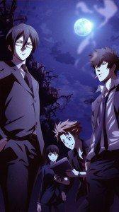 Psycho-Pass.Shinya Kogami.Nobuchika Ginoza.Shusei Kagari.Yayoi Kunizuka Huawei U9500-1 Ascend D1 wallpaper.720x1280
