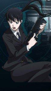 Psycho-Pass.Yayoi Kunizuka Huawei U9500-1 Ascend D1 wallpaper.720x1280