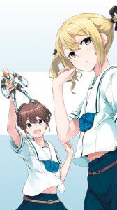 Robotics;Notes.Akiho Senomiya.Frau Koujiro Kona Furugori Samsung GT-i9300 Galaxy S3 wallpaper.720x1280