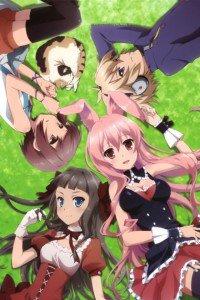 Mondaiji-tachi ga Isekai Kara Kuru So Desu yo.Sakamaki Izayoi iPhone 4 wallpaper.Black Rabbit.Kudo Asuka.Kasukabe Yo.640x960
