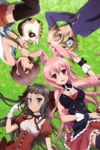 Mondaiji-tachi ga Isekai Kara Kuru So Desu yo.Sakamaki Izayoi.Black Rabbit.Kudo Asuka.Kasukabe Yo iPhone 4 wallpaper.640x960