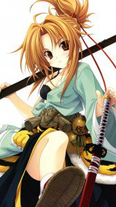 Oda Nobuna no Yabou.Nobuna Oda HTC One X wallpaper.720x1280