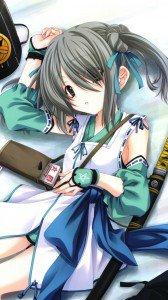 Oda Nobuna no Yabou.Takenaka Hanbee Sony LT26i Xperia S wallpaper.720x1280