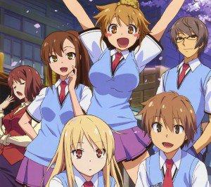 Sakurasou no Pet na Kanojo.Mashiro Shiina.Sorata Kanda.Nanami Aoyama.Misaki Kamiigusa Android wallpaper.1440x1280