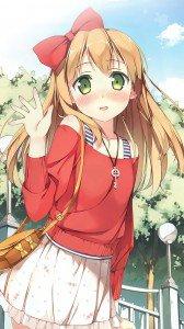 Hentai Ouji to Warawanai Neko.Azusa Azuki Sony LT26i Xperia S wallpaper.720x1280