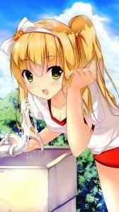 Hentai Ouji to Warawanai Neko.Azusa Azuki ZTE Flash wallpaper.720x1280