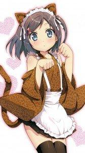 Hentai Ouji to Warawanai Neko.Tsukiko Tsutsukakushi Magic THL W3 wallpaper.720x1280