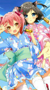 Hentai Ouji to Warawanai Neko.Tsukiko Tsutsukakushi Sony Xperia V wallpaper.Emi (Emanuela Pollarola).720x1280