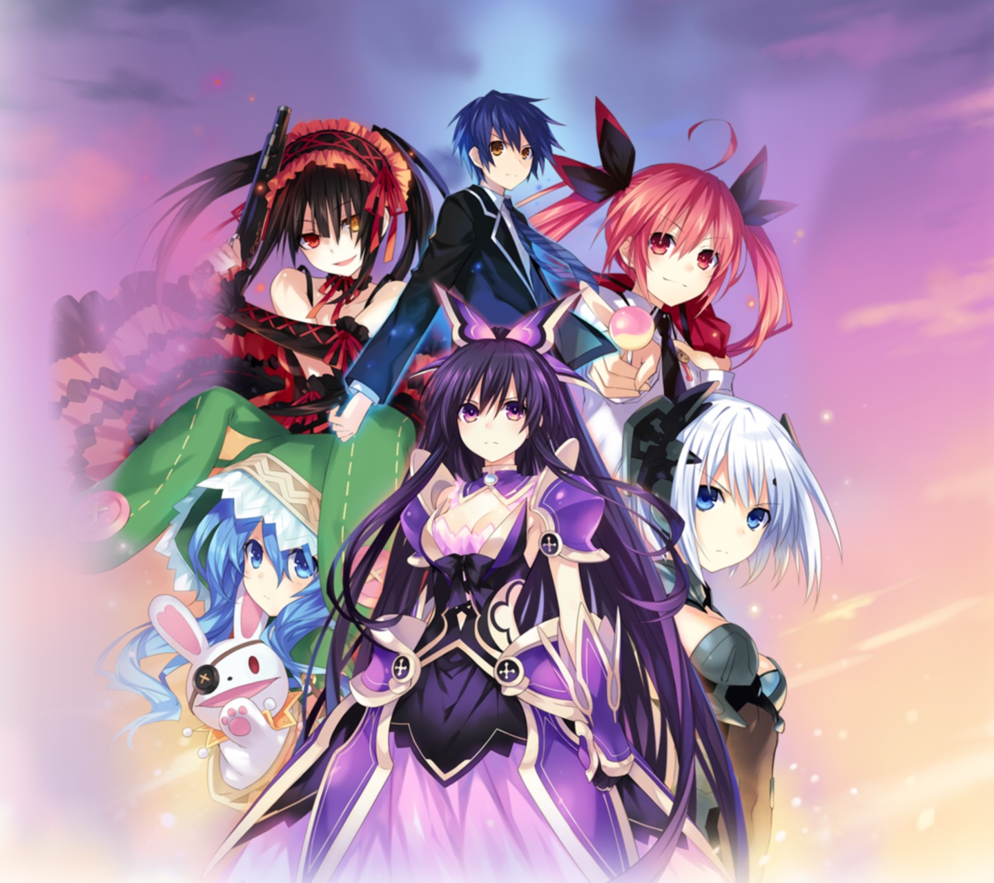 Date A Live.Android wallpaper.1440x1280