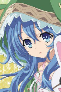 Date A Live.Yoshino iPhone 4 wallpaper.640x960