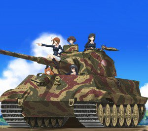 Girls und Panzer.Android wallpaper.1440x1280 (1)