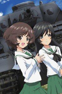 Girls und Panzer.Hana Isuzu.Yukari Akiyama iPhone 4 wallpaper.640x960