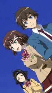 Kakumeiki Valvrave.Shoko Sashinami.Marie Nobi.Haruto Tokishima HTC One X wallpaper.720x1280