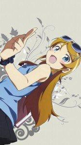 Ore no Imoto ga Konna ni Kawaii Wake ga Nai.Kirino Kosaka Sony LT28H Xperia ion wallpaper.720x1280