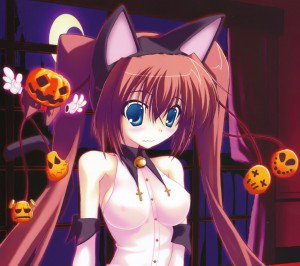 Anime Halloween 2013.Android wallpaper.2160x1920