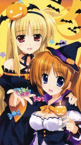 Anime Halloween 2013.Samsung Galaxy S4 wallpaper.1080x1920 (3)