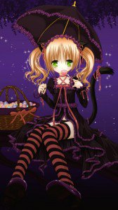 Anime Halloween 2013.Sony LT26i Xperia S wallpaper.720x1280