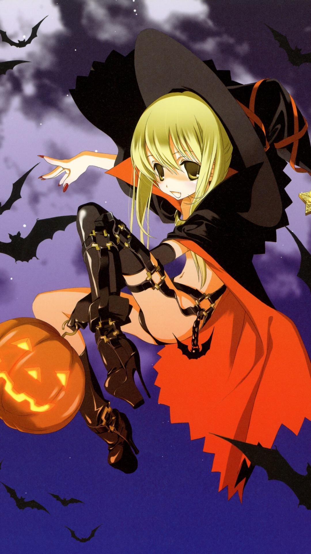 Anime Halloween 2013.Sony Xperia Z wallpaper.1080x1920 (1)