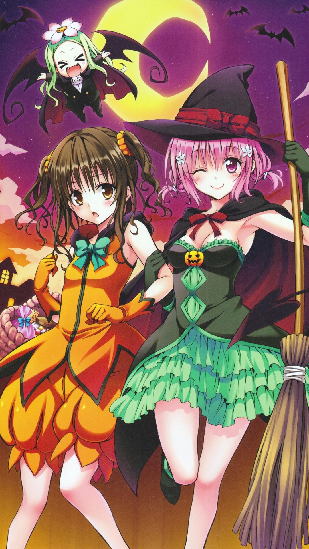 Anime Halloween 2013 Sony Xperia Z Wallpaper 1080 1920 3
