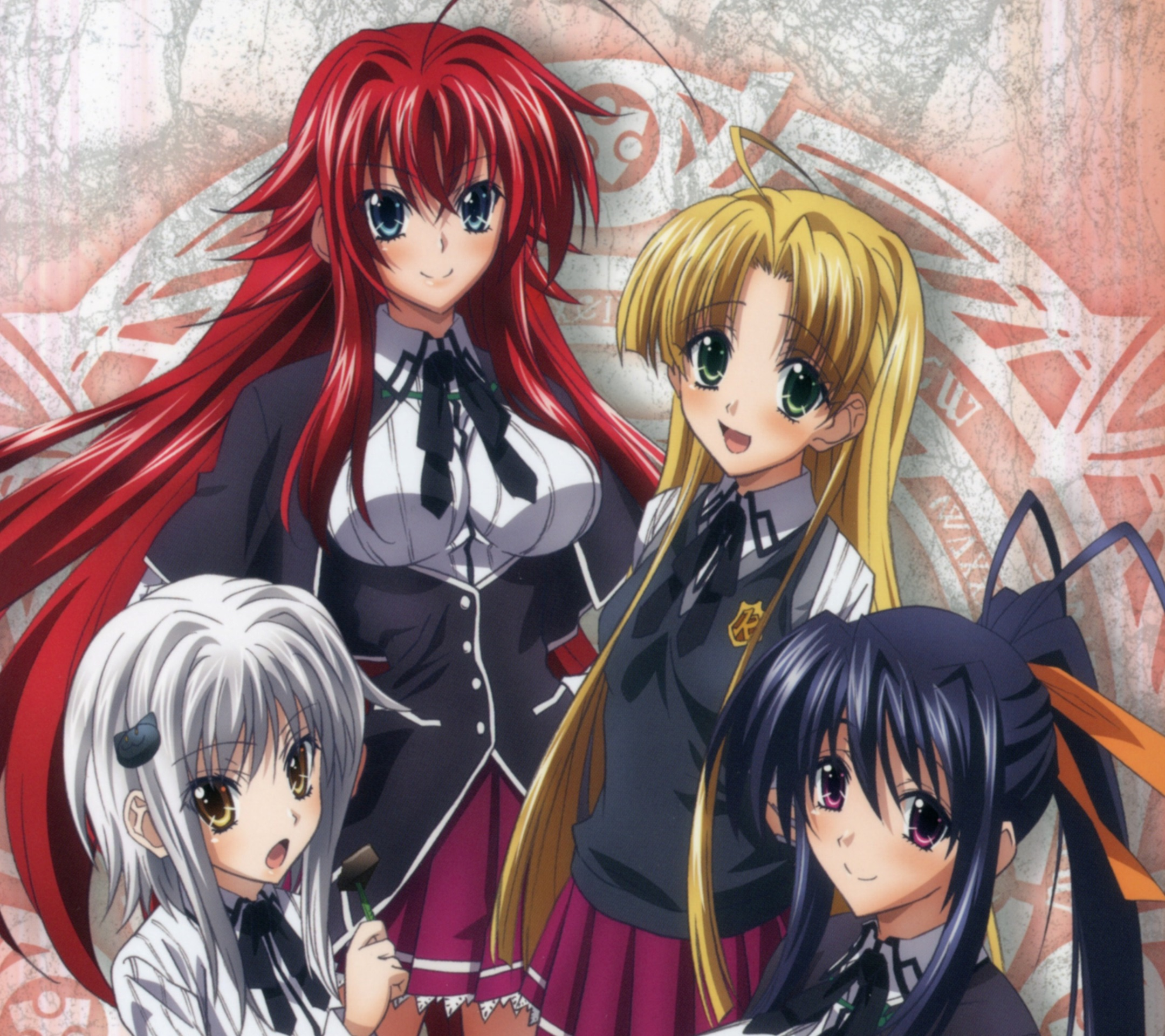 High School DxD NEW.Android wallpaper.2160×1920 (1 ...