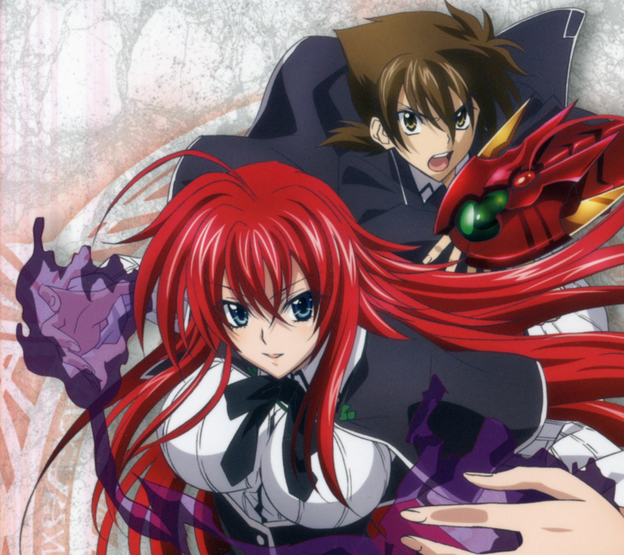 High School DxD NEW.Issei Hyodo Android wallpaper.Rias ...