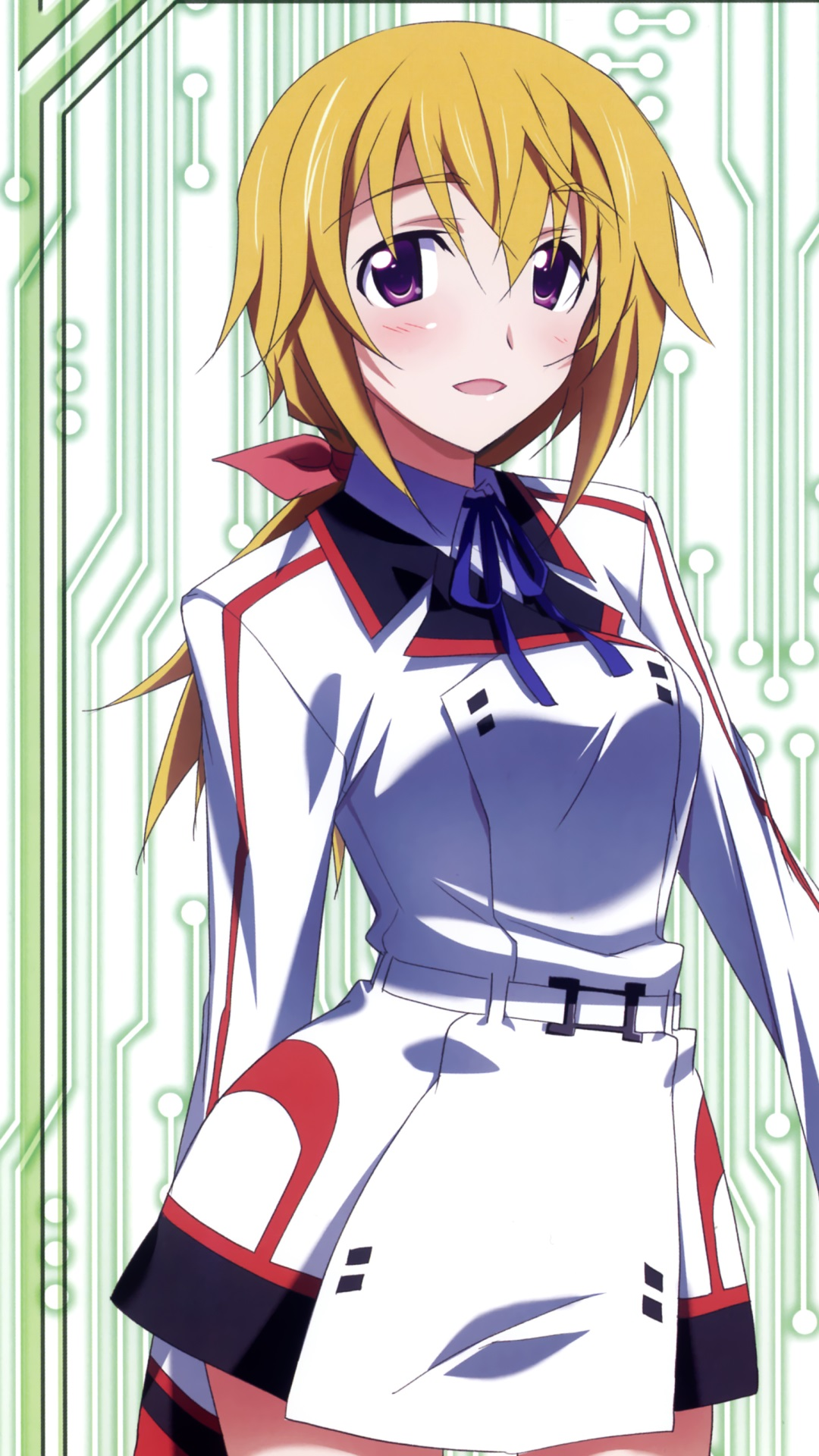 Infinite stratos charlotte dunois samsung galaxy s4 - Anime wallpaper hd for android phones ...