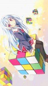 C Cube.Fear Cubrick Acer CloudMobile wallpaper.720x1280