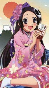 Kami nomi zo Shiru Sekai Megami Hen.Elsie Motorola Atrix HD wallpaper.720x1280