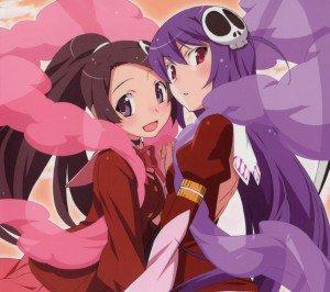 Kami nomi zo Shiru Sekai Megami Hen.Elsie.Haqua Android wallpaper.2160x1920