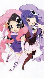 Kami nomi zo Shiru Sekai Megami Hen.Elsie.Haqua Magic THL W300 wallpaper.1080x1920
