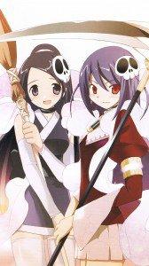 Kami nomi zo Shiru Sekai Megami Hen.Elsie.Haqua Samsung Galaxy S4 wallpaper.1080x1920
