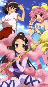 Kami nomi zo Shiru Sekai Megami Hen.HTC One wallpaper.1080x1920