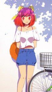 Kami nomi zo Shiru Sekai Megami Hen.Kanon Nakagawa Samsung Galaxy Note2 N7100 wallpaper.720x1280