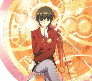 Kami nomi zo Shiru Sekai Megami Hen.Keima Katsuragi Android wallpaper.2160x1920