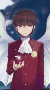 Kami nomi zo Shiru Sekai Megami Hen.Keima Katsuragi Samsung Galaxy Note2 N7100 wallpaper.720x1280