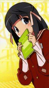 Kami nomi zo Shiru Sekai Megami Hen.Shiori Shiomiya Samsung Galaxy Note2 N7100 wallpaper.720x1280