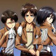 Shingeki no Kyojin (Attack on Titan) wallpapers for android and iPhone. Eren Jaeger, Armin Arlert and Mikasa Ackerman iPhone 5 and android wallpapers. Levi (Rivaille), Krista Lenz, Hanji Zoe and...