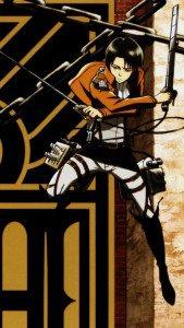 Shingeki no Kyojin.Levi (Rivaille) iPhone 5