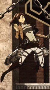 Shingeki no Kyojin.Sasha Blouse Magic THL W300 wallpaper.1080x1920