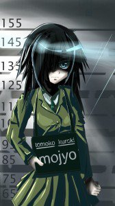 WataMote.Tomoko Kuroki Samsung Galaxy Note 3 wallpaper.1080x1920