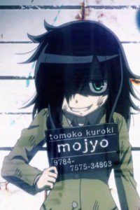 WataMote.Tomoko Kuroki iPhone 3G wallpaper.320x480