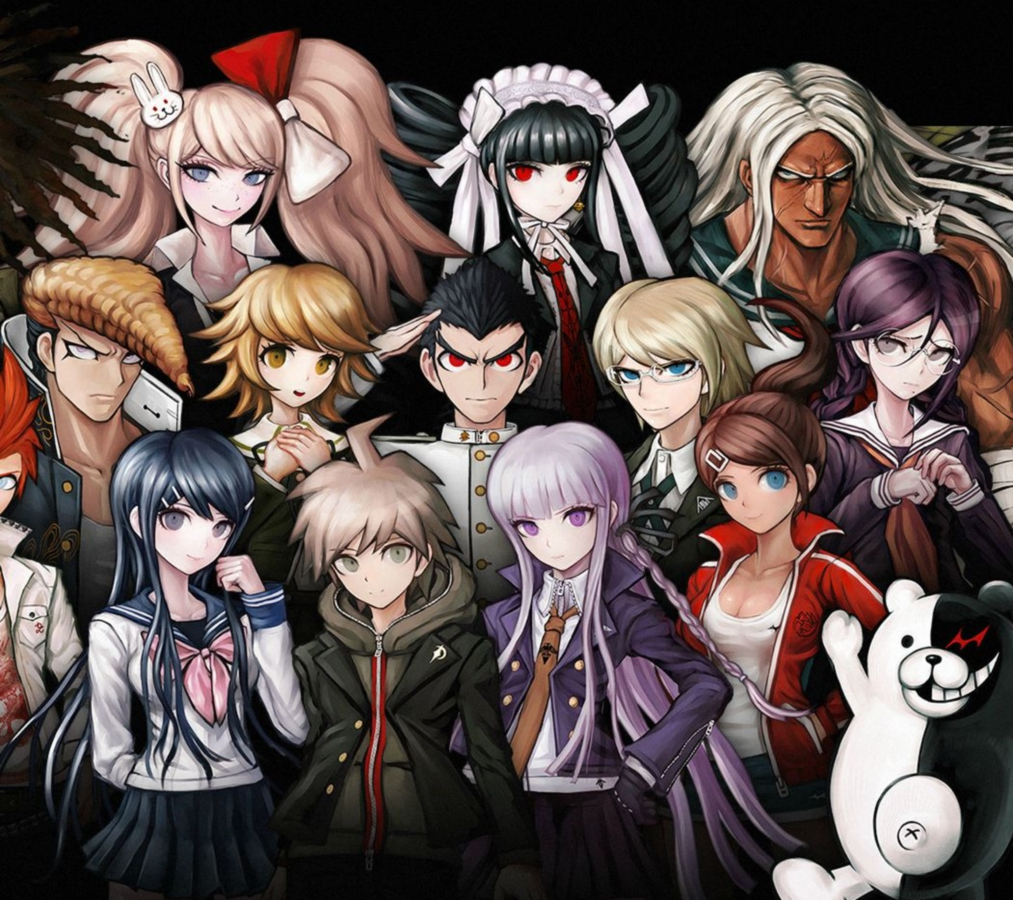 Danganronpa: Trigger Happy Havoc mobile wallpapers for iPhone and ...