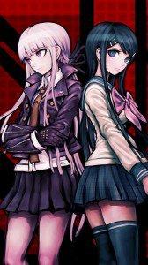 Danganronpa.Kyoko Kirigiri Magic THL W3 wallpaper.Sayaka Maizono.720x1280