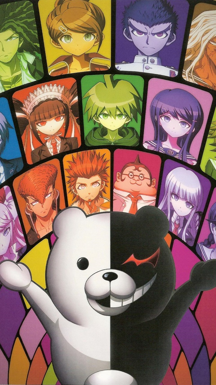 Danganronpa.Sony LT26i Xperia S wallpaper.720x1280